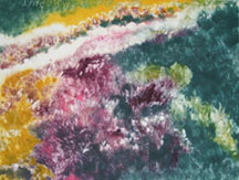 The Garden, a monotype by Mary Gow