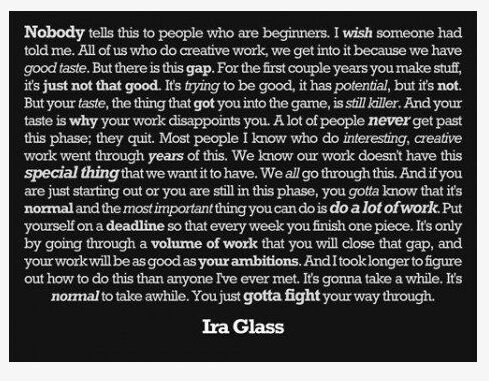 From Ira Glass