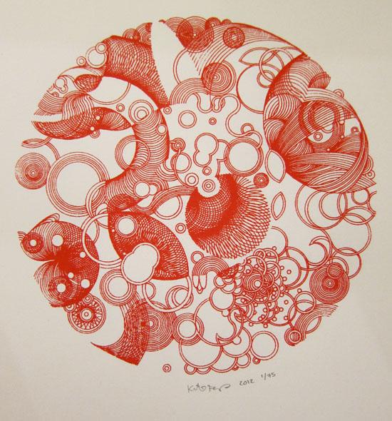 International Orange by Kathrin Feser