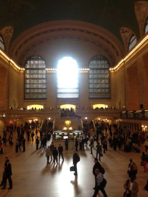 Grand Central Moment, by Mary Gow