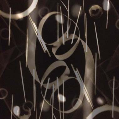 Between Yes and Yes, Altered Photogram by Mary Gow