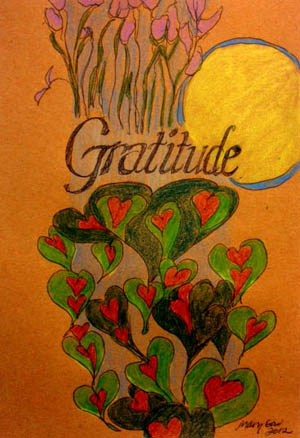 """Gratitude,"" by Mary Gow"
