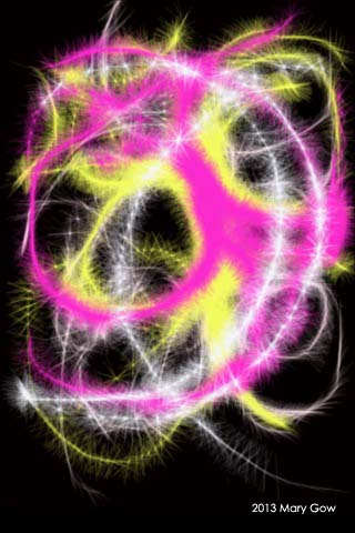 The Cycle, created using the Harmonious app, by Mary Gow