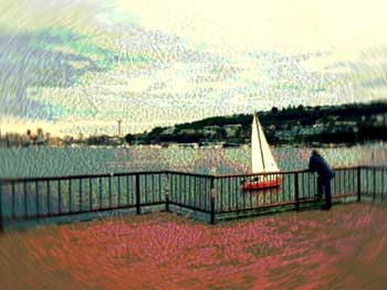 """""""Lake Union,"""" photo by Mary Gow"""