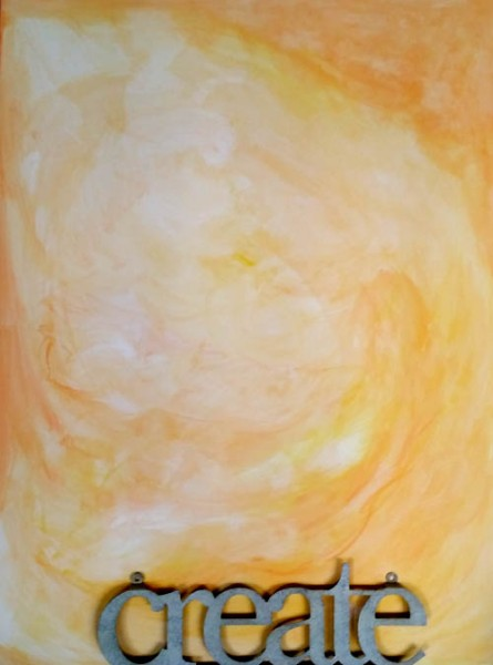 Nurture Your Creativity, acrylic on canvas, by Mary Gow