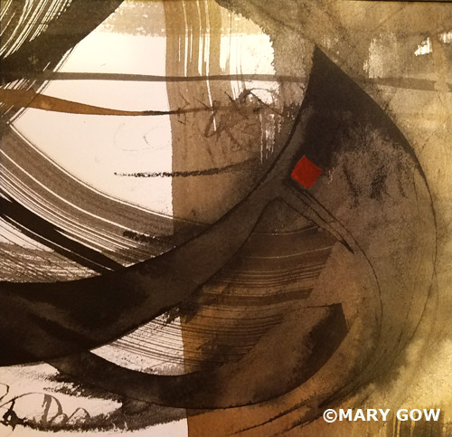 Mary Gow - Calligraphic Abstraction