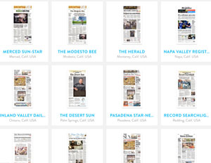 Read Hundreds of Front Pages at Newseum.org