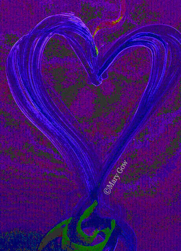 Day 6 Purple Heart by Mary Gow