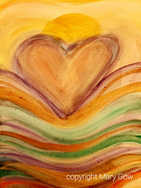 Day 16-Heart by Mary Gow