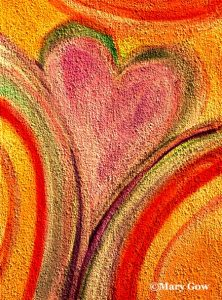 Day 20 Heart by Mary Gow