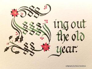 Calligraphy by Elena Caruthers